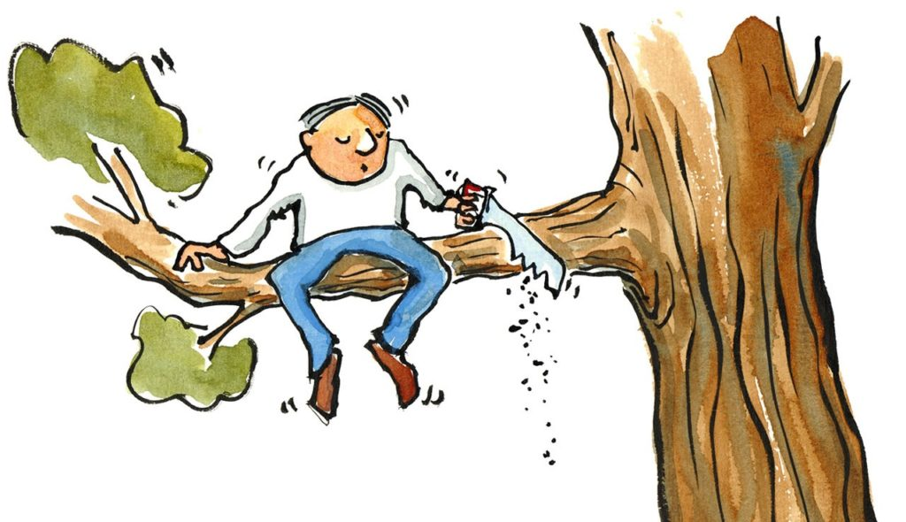 Podřezávání větve