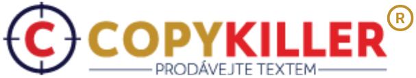 Copykiller - prodávejte textem
